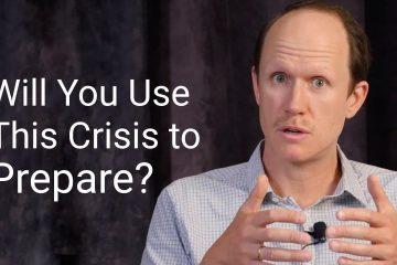 Use this crisis to prepare